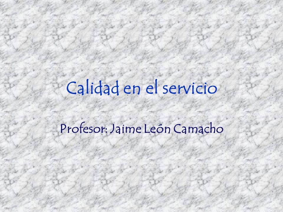 Profesor: Jaime León Camacho
