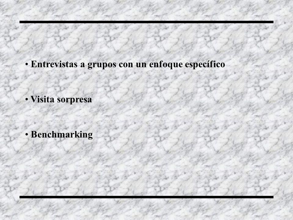 Entrevistas a grupos con un enfoque específico