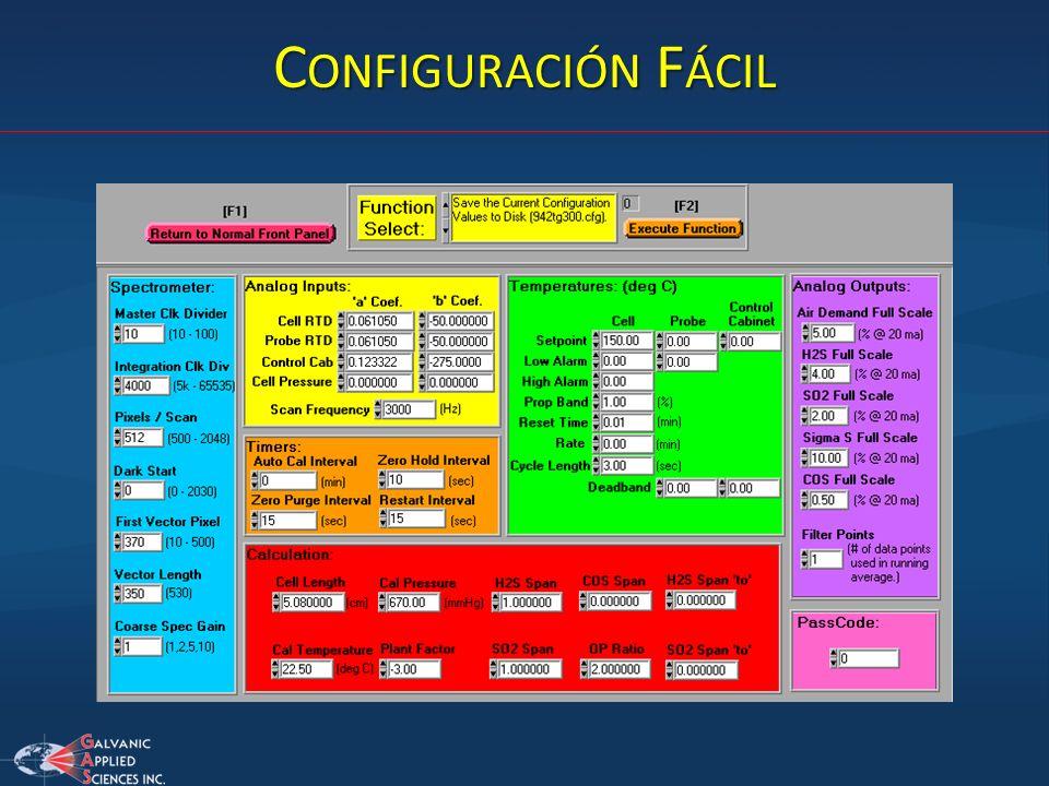 Configuración Fácil