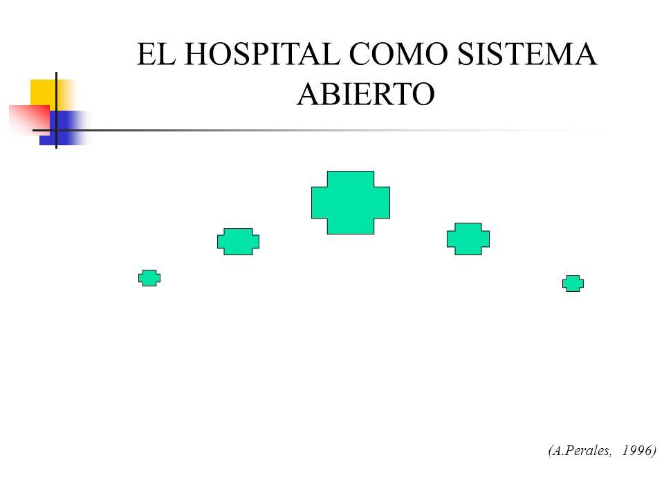 EL HOSPITAL COMO SISTEMA ABIERTO