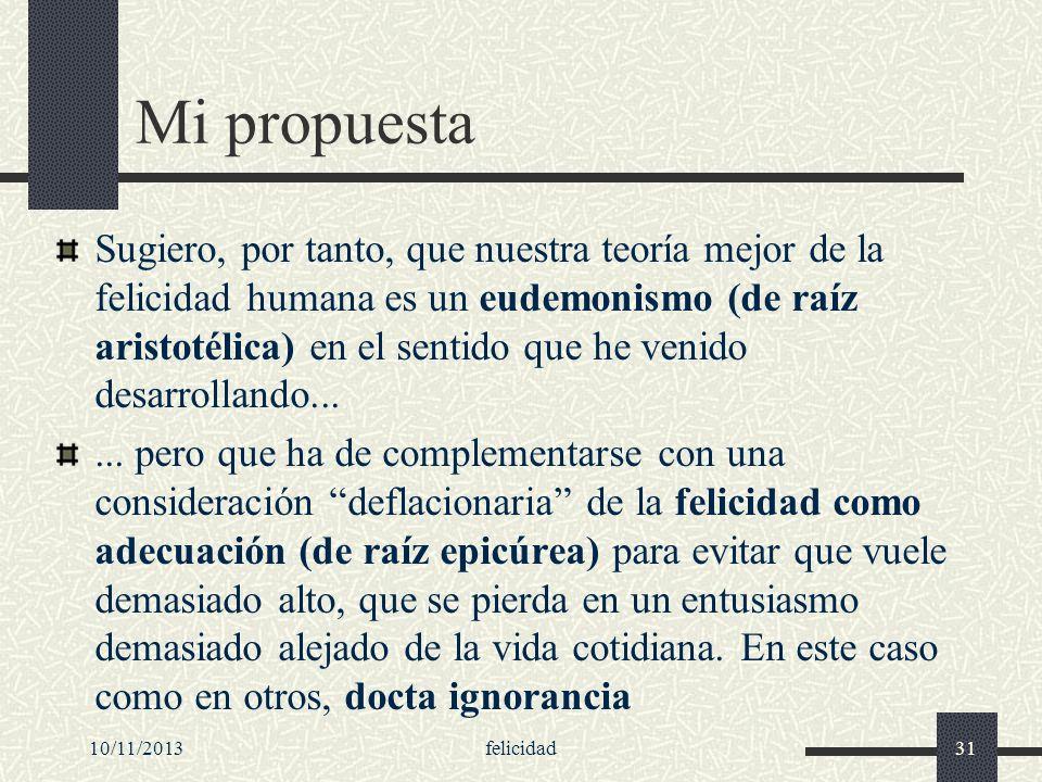 Mi propuesta