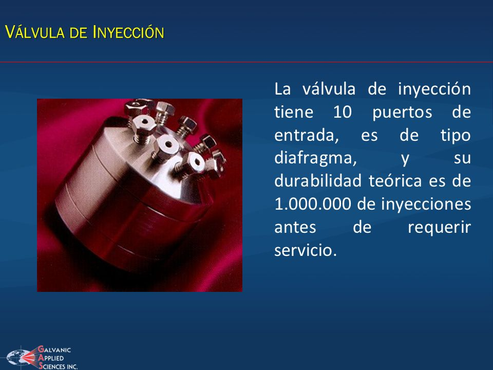 Válvula de Inyección