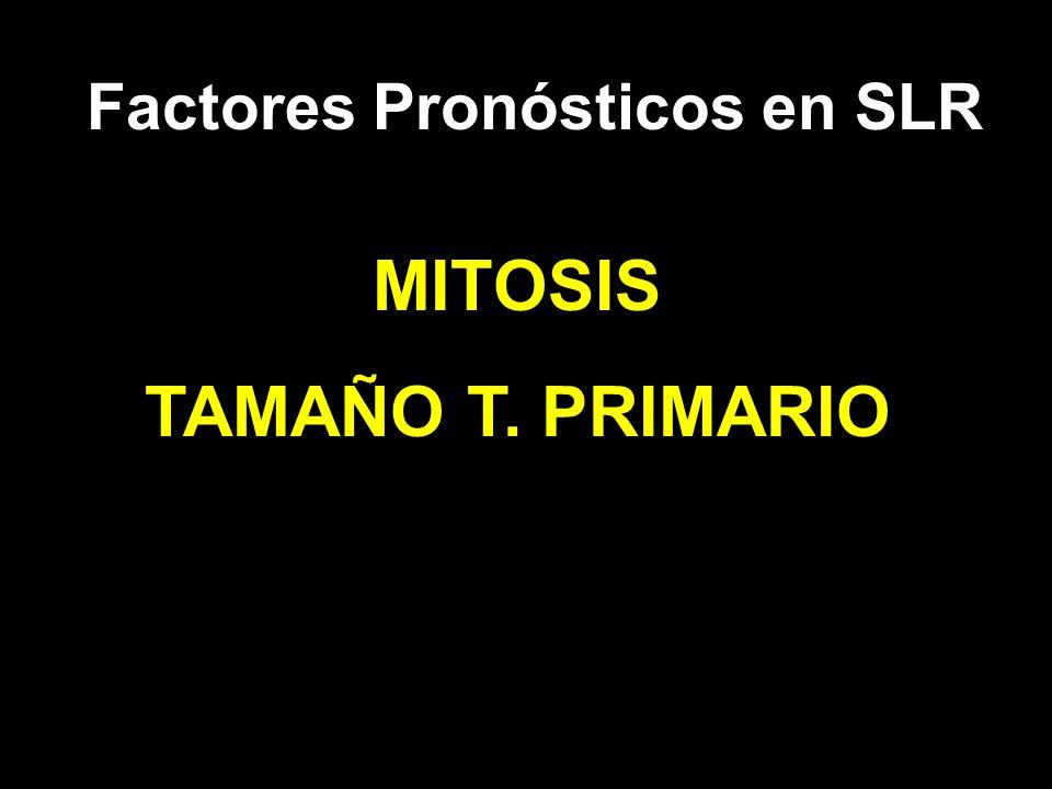 Factores Pronósticos en SLR