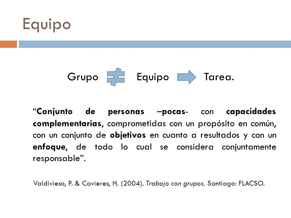 Equipo Grupo Equipo Tarea.