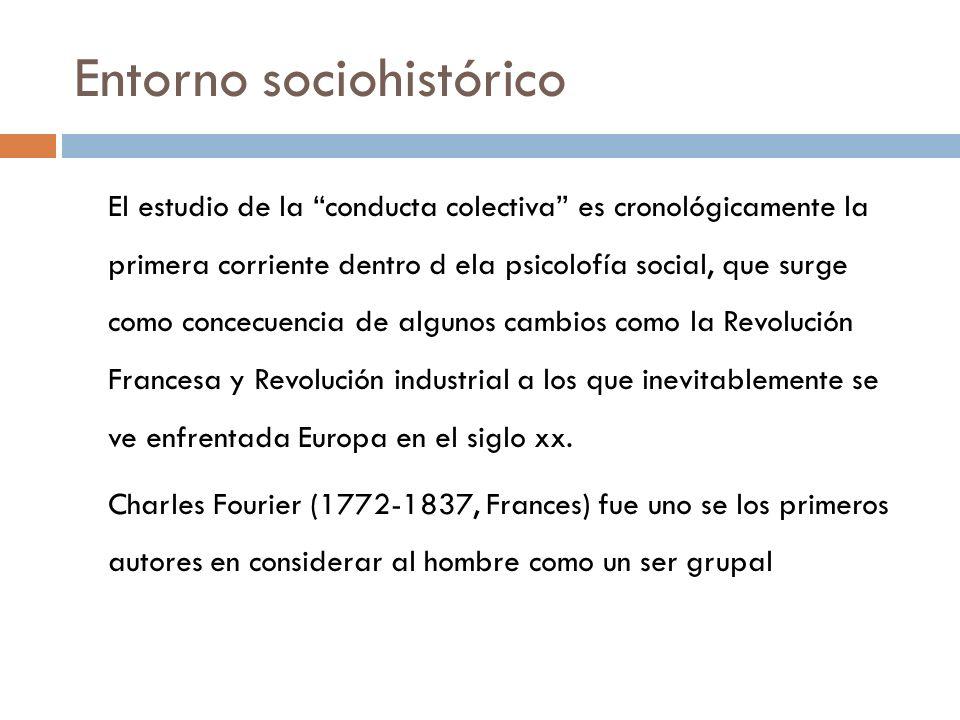 Entorno sociohistórico