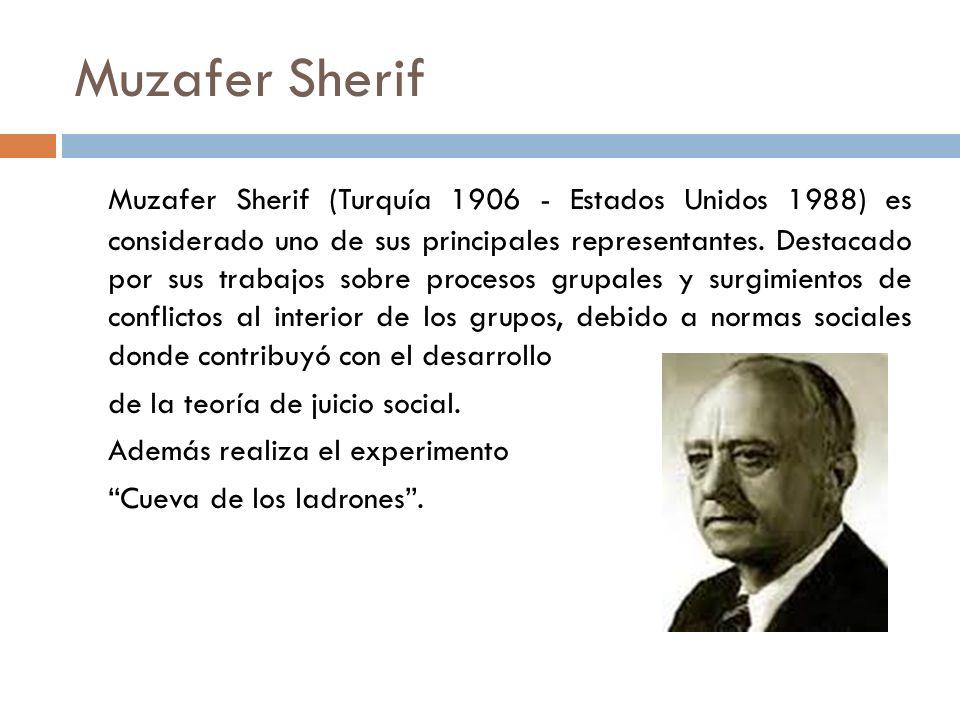 Muzafer Sherif