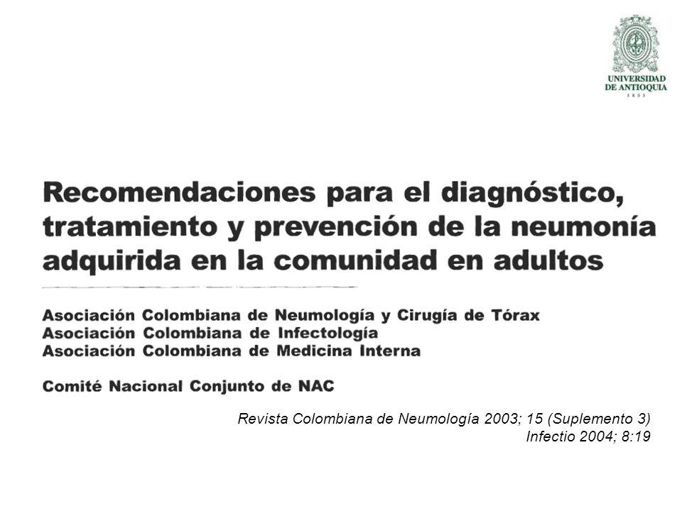 Guías Colombianas de NAC