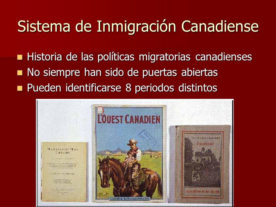 Sistema de Inmigración Canadiense