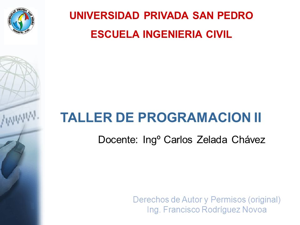UNIVERSIDAD PRIVADA SAN PEDRO ESCUELA INGENIERIA CIVIL