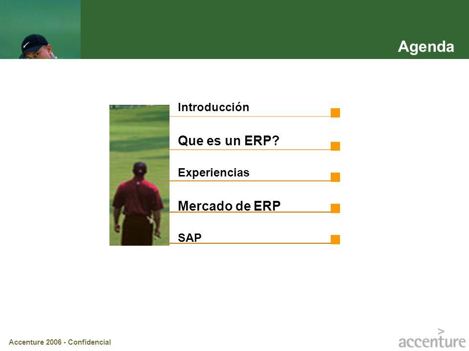 Agenda Introducción Que es un ERP Experiencias Mercado de ERP SAP
