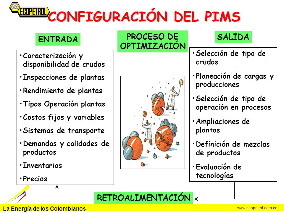 CONFIGURACIÓN DEL PIMS
