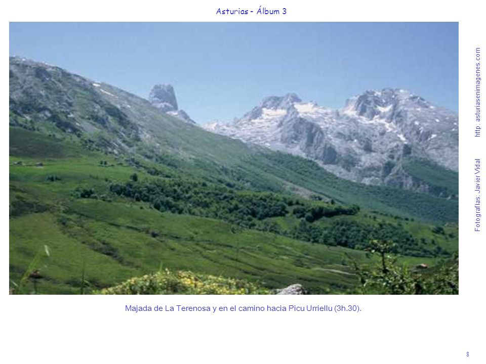 Majada de La Terenosa y en el camino hacia Picu Urriellu (3h.30).