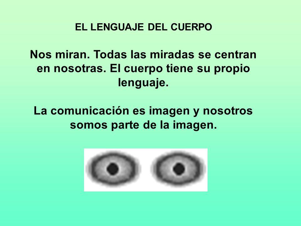 La comunicación es imagen y nosotros somos parte de la imagen.