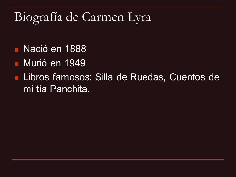 Biografía de Carmen Lyra