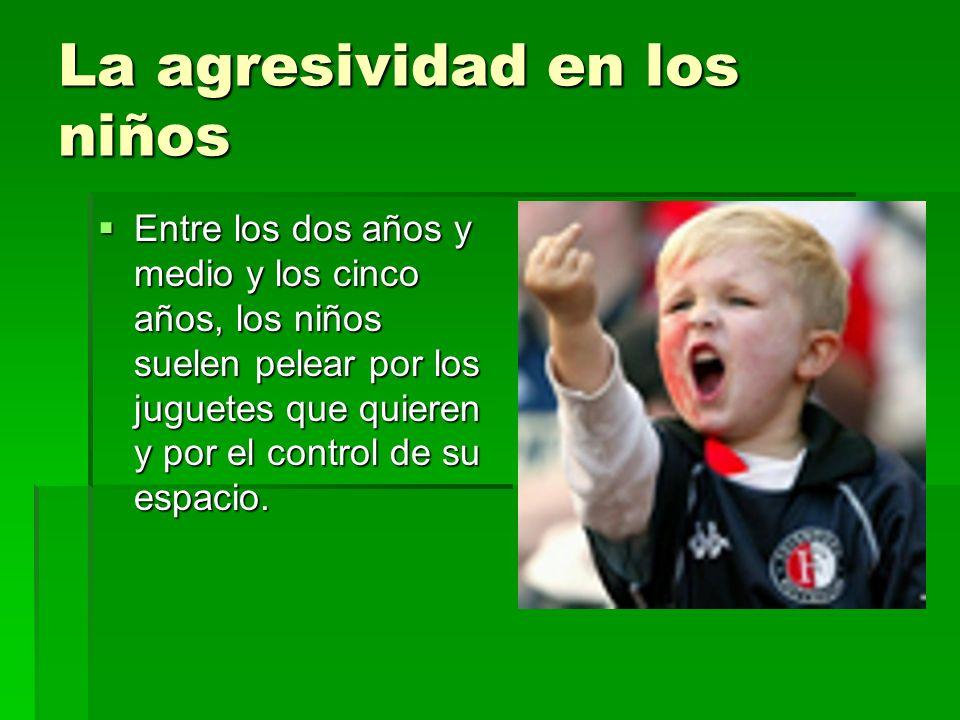 La agresividad en los niños