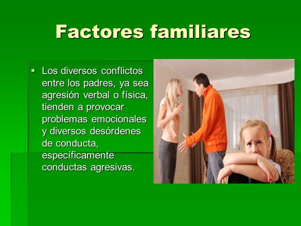 Factores familiares