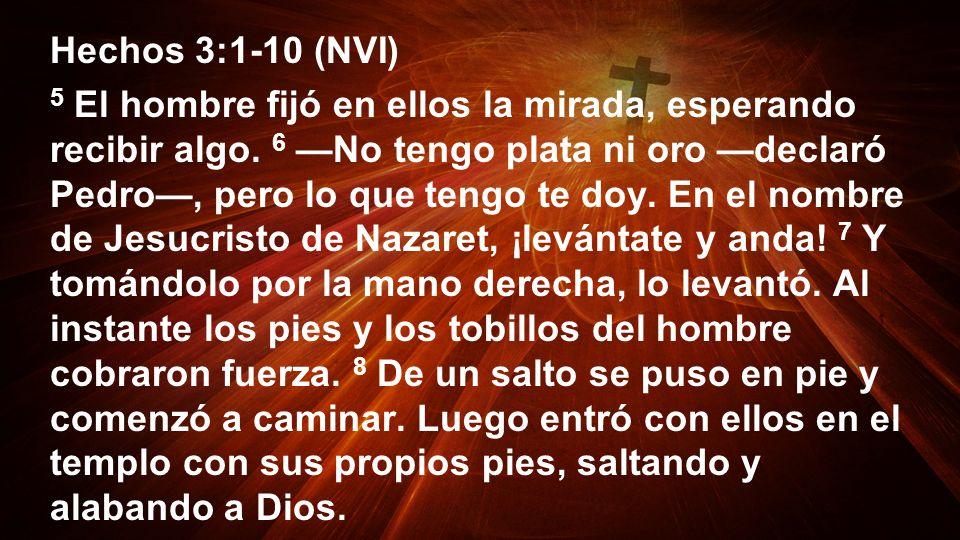 Hechos 3:1-10 (NVI)