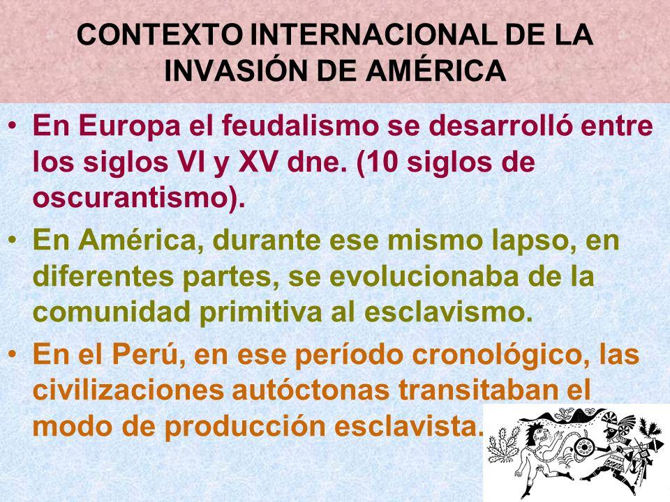 CONTEXTO INTERNACIONAL DE LA INVASIÓN DE AMÉRICA