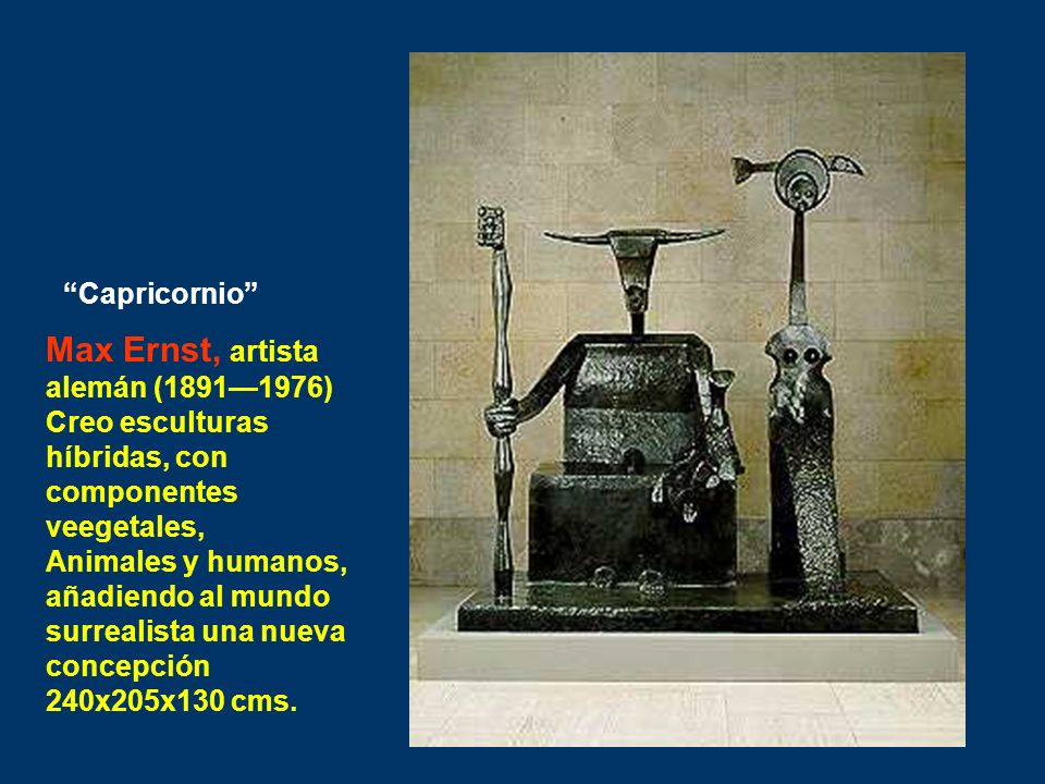 Max Ernst, artista alemán (1891—1976)