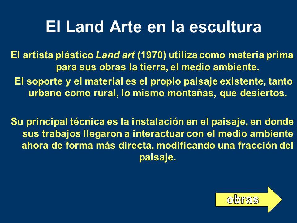 El Land Arte en la escultura