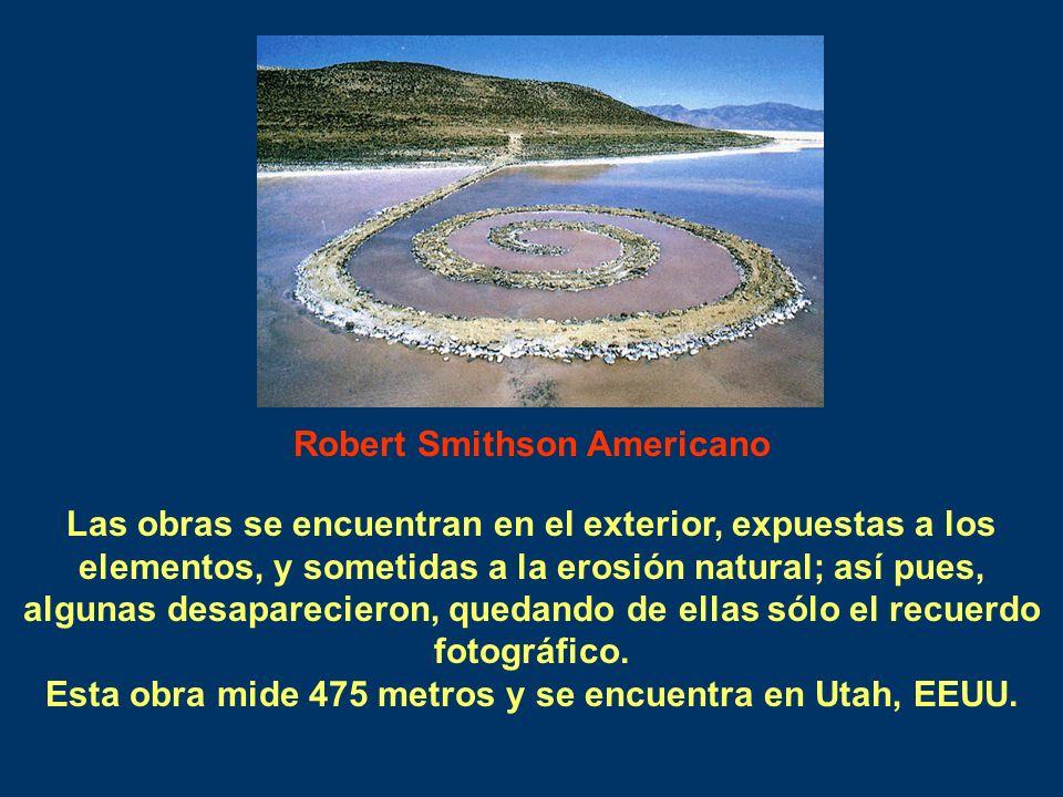 Robert Smithson Americano