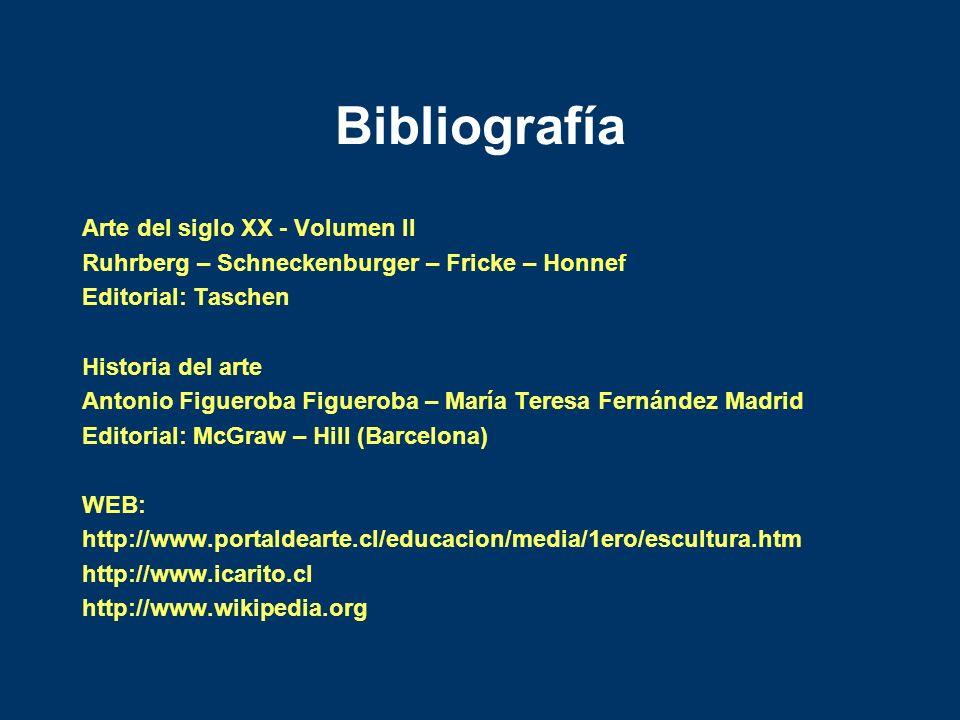 Bibliografía Arte del siglo XX - Volumen II