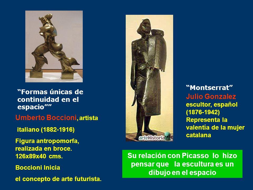 Julio Gonzalez escultor, español