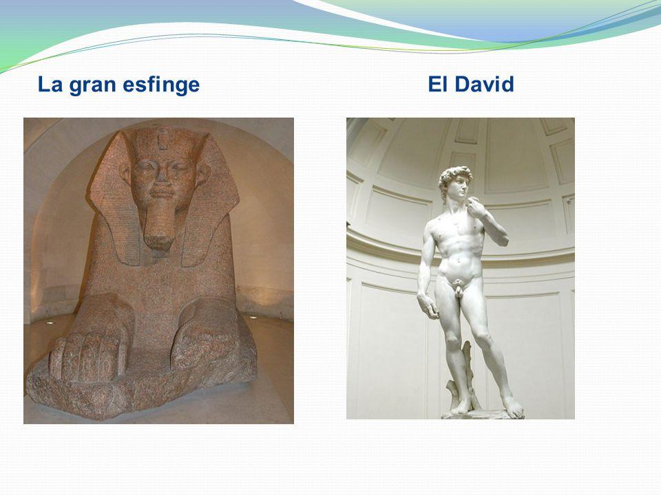 La gran esfinge El David
