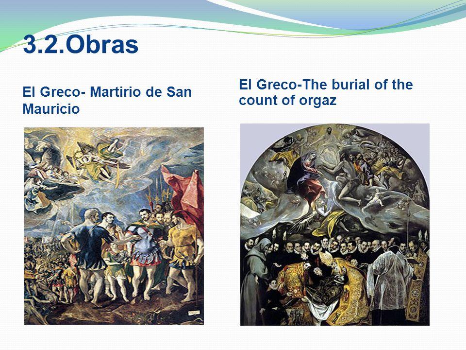 3.2.Obras El Greco- Martirio de San Mauricio
