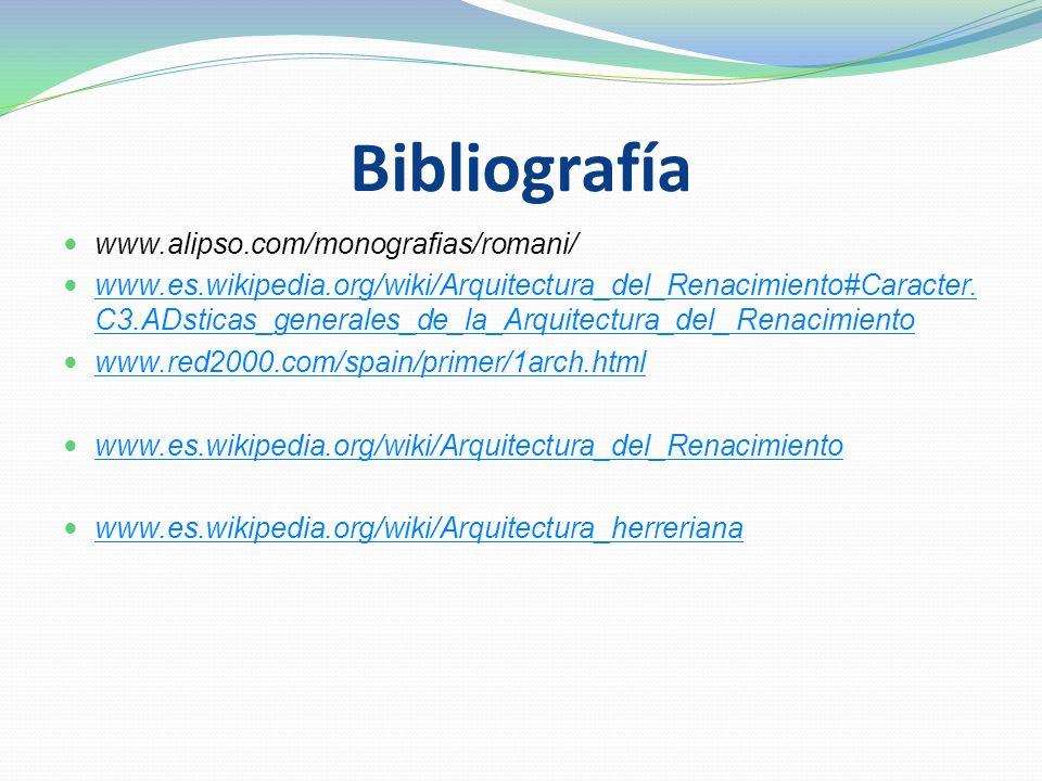Bibliografía www.alipso.com/monografias/romani/