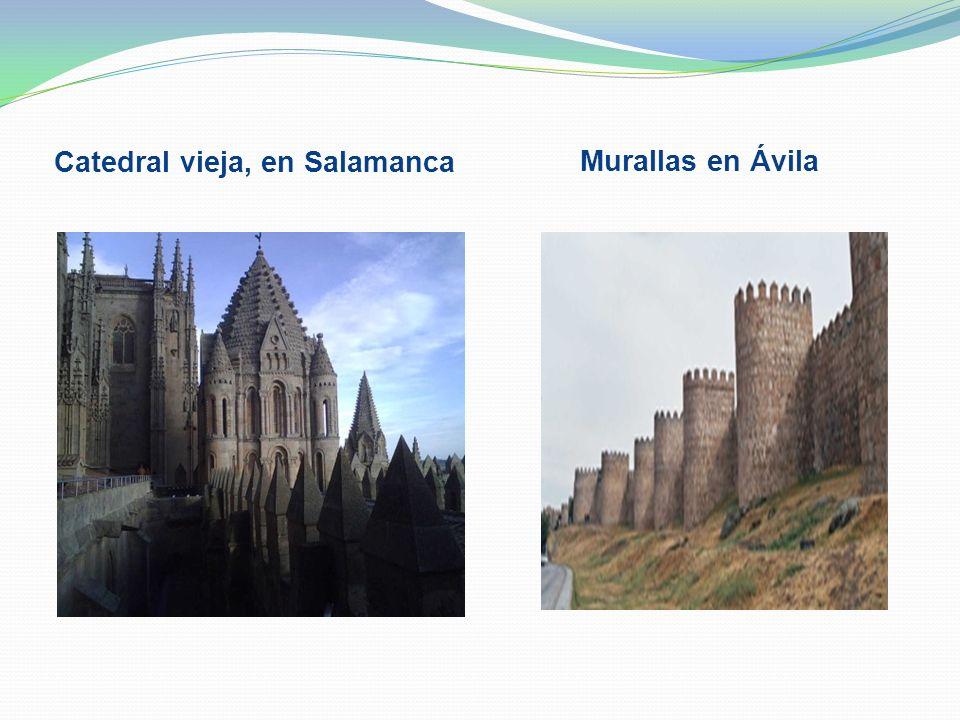 Catedral vieja, en Salamanca
