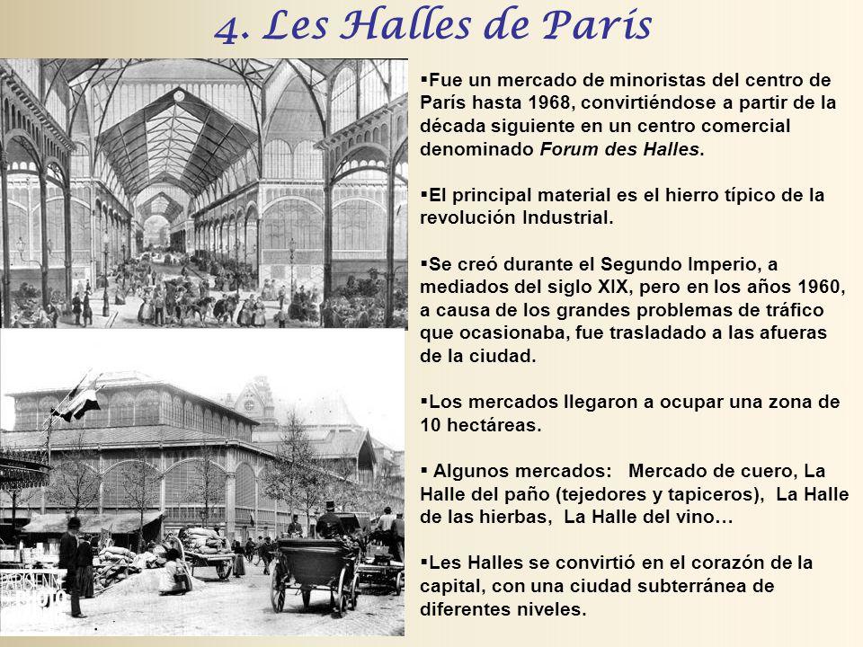 4. Les Halles de París