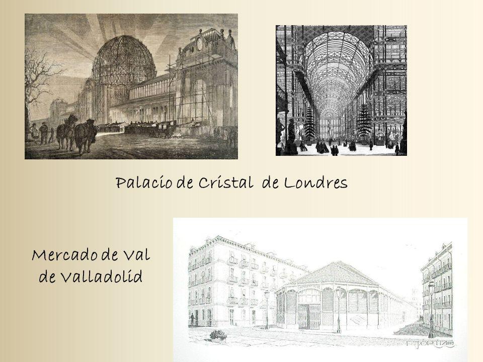 Palacio de Cristal de Londres Mercado de Val de Valladolid