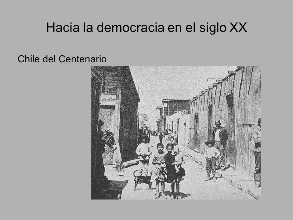 Hacia la democracia en el siglo XX