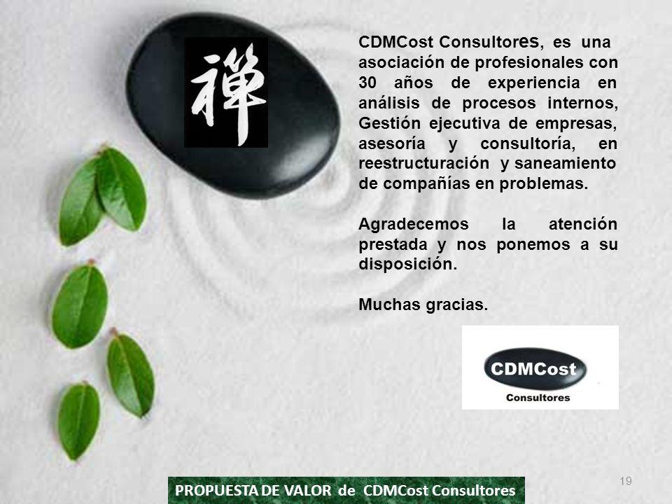 CDMCost Consultores, es una
