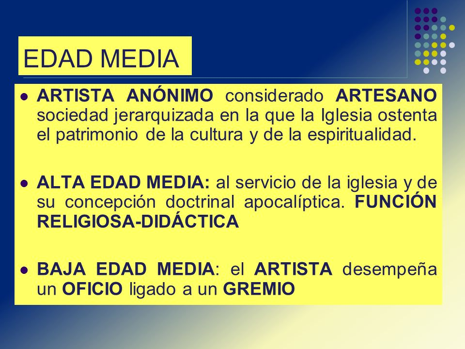 EDAD MEDIA