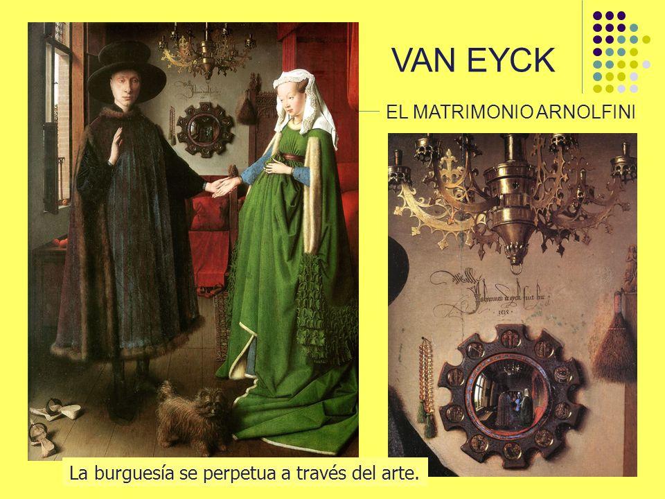 VAN EYCK EL MATRIMONIO ARNOLFINI