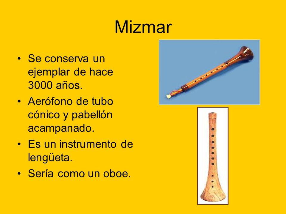 Mizmar Se conserva un ejemplar de hace 3000 años.