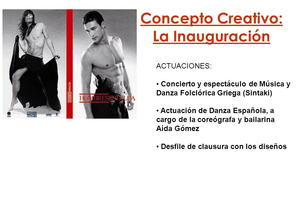 Concepto Creativo: La Inauguración
