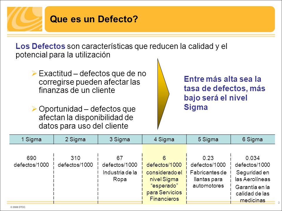 Que es un Defecto Los Defectos son características que reducen la calidad y el potencial para la utilización.