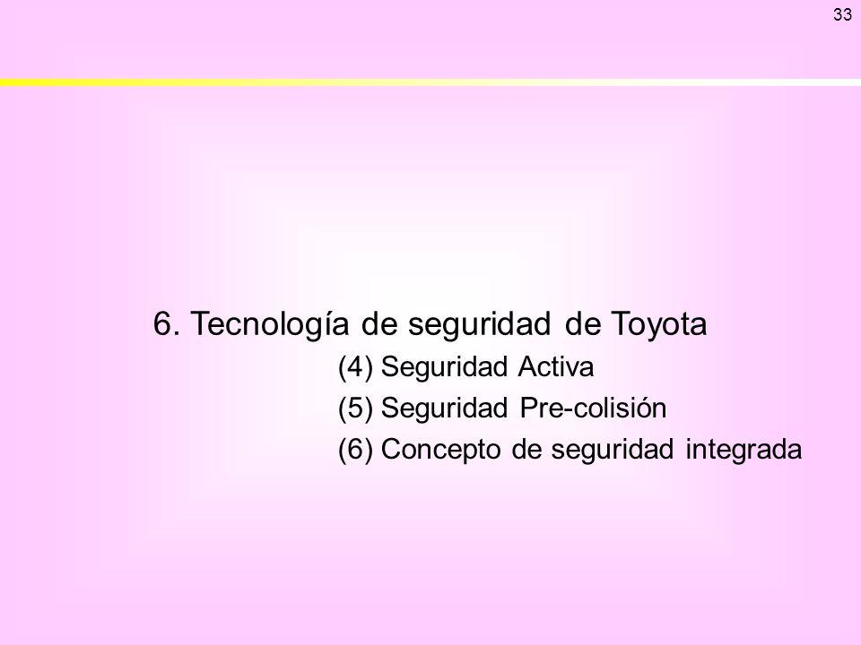6. Tecnología de seguridad de Toyota