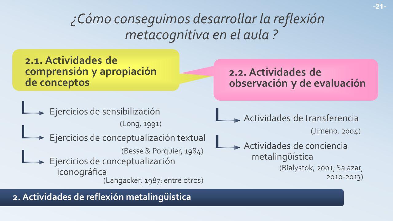 ¿Cómo conseguimos desarrollar la reflexión metacognitiva en el aula