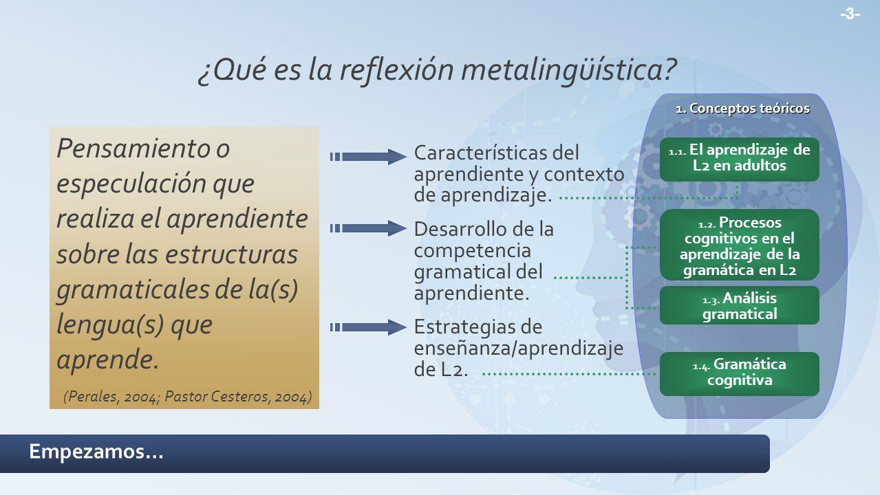 ¿Qué es la reflexión metalingüística