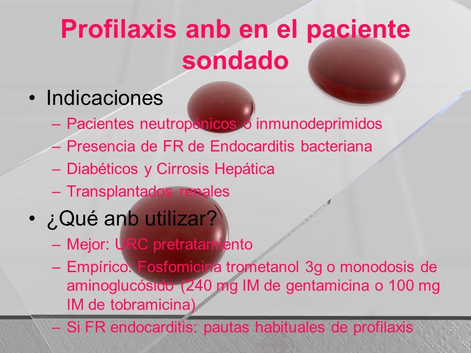 Profilaxis anb en el paciente sondado