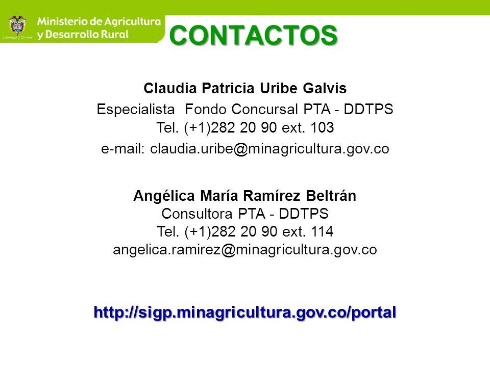 Claudia Patricia Uribe Galvis Angélica María Ramírez Beltrán