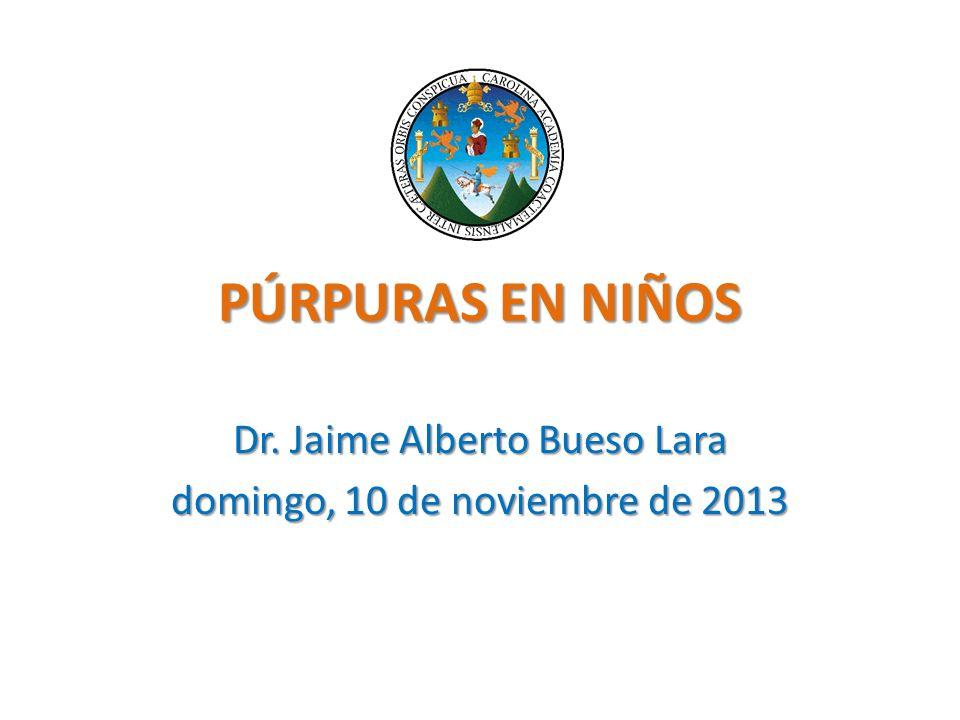 Dr. Jaime Alberto Bueso Lara jueves, 23 de marzo de 2017
