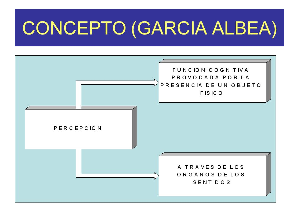 CONCEPTO (GARCIA ALBEA)