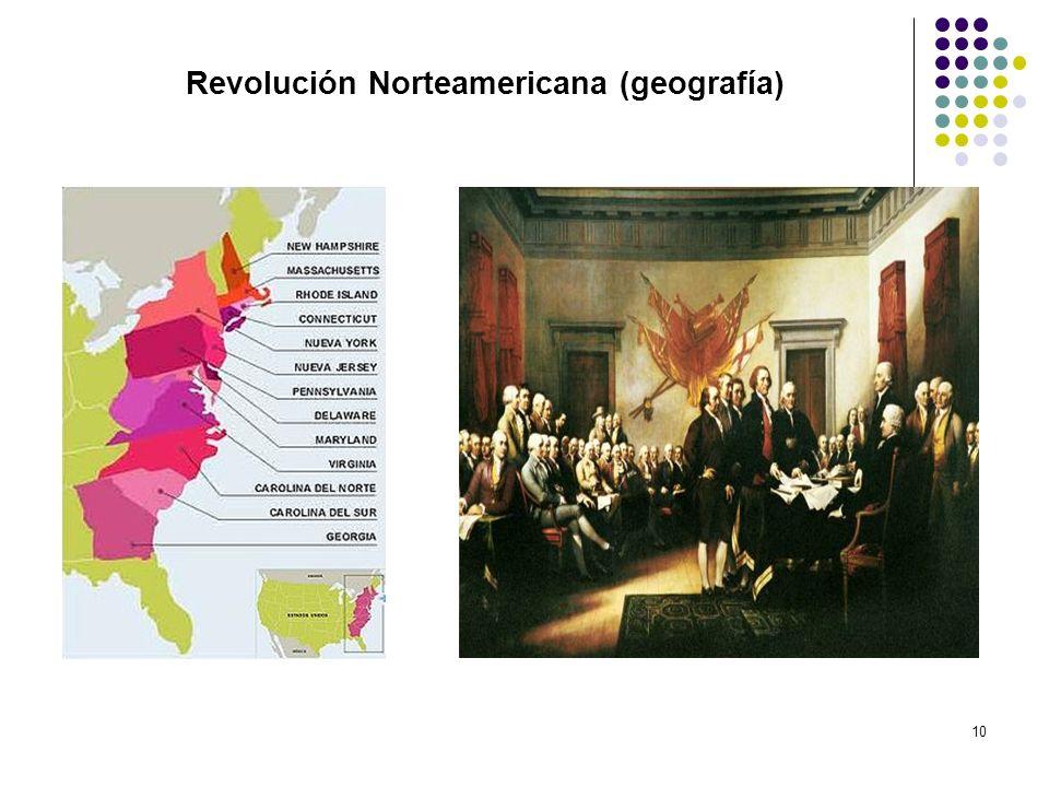 Revolución Norteamericana (geografía)