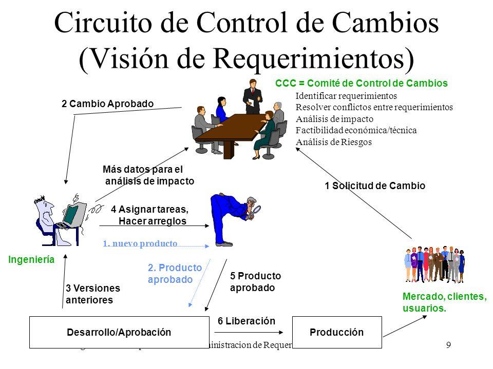 Circuito de Control de Cambios (Visión de Requerimientos)