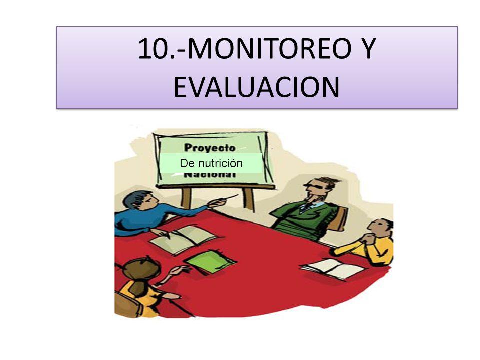 10.-MONITOREO Y EVALUACION